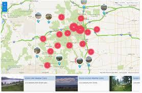 I 70 Colorado Map by Live Colorado Webcams Colorado Weather Cams