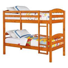 Bunk Bed Wooden Wooden Bunk Beds Hayneedle
