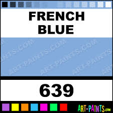 french blue folk art acrylic paints 639 french blue paint