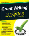 how to write a grant application cover letter dummies