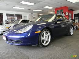 Porsche 911 Blue - 2001 lapis blue metallic porsche 911 carrera 4 coupe 48520983