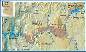 Map Of The Colorado River by Maps Gallery Glen Canyon Dam Amp