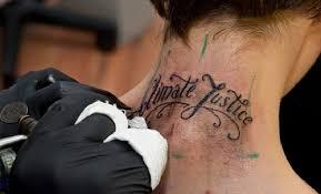 neck tattoos acika quotes