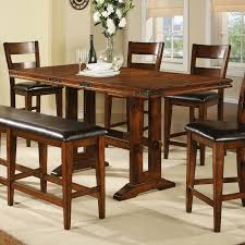 winners only mango counter height dining table with 18 in