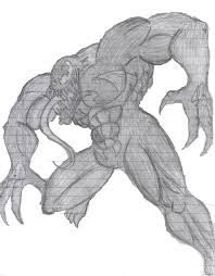 venom sketch by aslan1 on deviantart