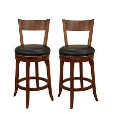furniture rustic wooden bar stools with backs swivel cabinet