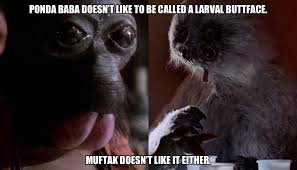 Butt Meme - alien faces or larval butts amasian science