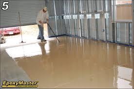 tips for an easier do it yourself epoxy garage or basement floor