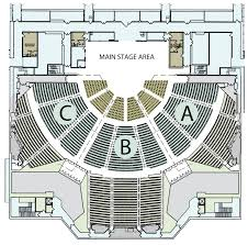 floor plan theater venues new orleans ernest morial convention center