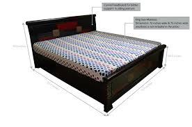 King Size Bed Frame Width King Size Bed Frame Dimensions Standard Uk Cm Australia