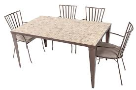 sacred earth mosaic dining setting outdoor u0026 indoor furniture