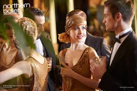 the great gatsby 20s fashion photos northern ballet