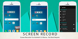 record screen android screen recorder android 5 0 above no root require by markbill