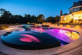 outdoor swimming pool decor references
