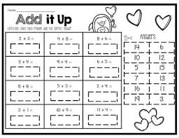 day addition and subtraction up to 20 centers and worksheets