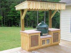 kamado joe grill table plans big green egg cabinet with granite top bge diy pinterest