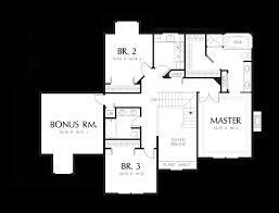 Traditional House Plan Mascord House Plan 2278 The Bienville