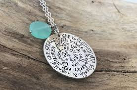 bible verse jewelry proverbs 31 necklace bible verse necklace she is clothed in