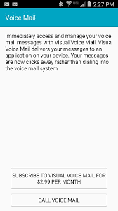 verizon visual voicemail android galaxy s4 verizon branded on talk visual voicemail