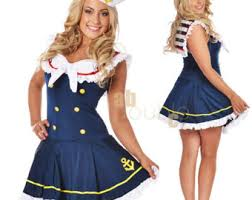 Halloween Costumes Girls Size 14 16 Sailor Costume Etsy