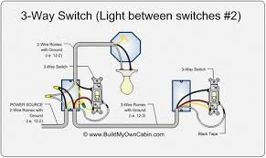circuit wiring diagram two switches one light 2 lights 2 switches