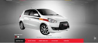 mitsubishi attrage bodykit new mirage model new mirage sport edition in indonesia