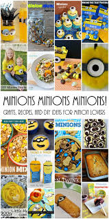 minions crafts food and recipes mmm 287 block party keeping