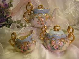 roses tea set gorgeous and willets belleek jeweled tea set tea