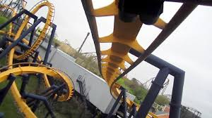 Great America Six Flags Rides Batman The Ride Backwards Back Seat On Ride Hd Pov Six Flags Great