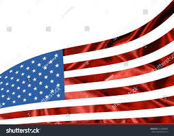 American Flag In Text American Flag Space Text Image Stockillustration 313028894