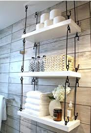 rustic bathroom towel rack