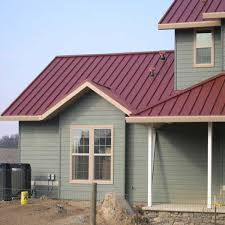 impressive barn metal roofing 3 houses with red metal roof that