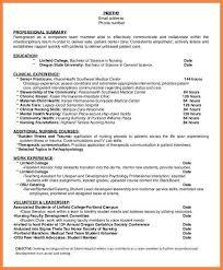 cover letter for nursing student resume quick resume builder free