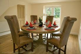 Dining Room Furniture Oak Round Dining Room Tables