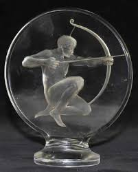 lalique archer ornament 8264 rlalique