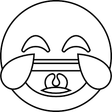 emoji face with tears of joy coloring pages emoji coloring