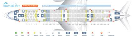 Boeing 777 300er Seat Map Klm Seating Plan 777 300 Brokeasshome Com