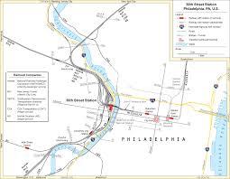 Septa Rail Map 30th Street Station Overview U2022 Mapsof Net