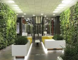 indoor garden wall interiors design