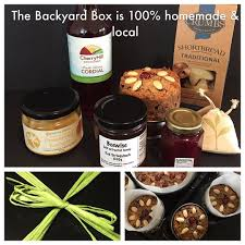 the backyard box all local and handmade produce boxed and ready