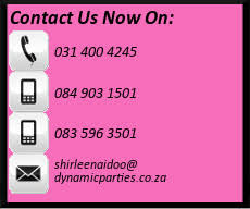 Decor Companies In Durban Dynamic Parties