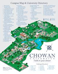 University Of Virginia Campus Map by Chowan University Campus Map Thinglink