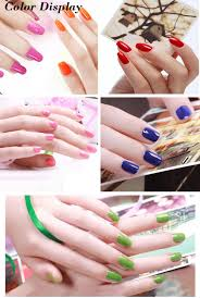 mdskl 30 colors waterproof lasting temperature change gel nail