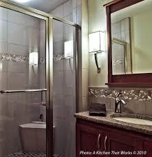 island kitchen bremerton strasser woodenworks bathroom transitional with a kitchen that