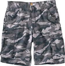 carhartt men u0027s rugged cargo camo work shorts u0027s sporting goods