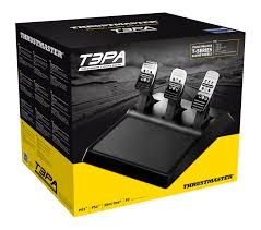 amazon com thrustmaster t3pa 3 pedal wide pedal set add on xbox