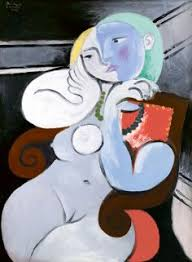 Armchair Pundit Sad Woman In A Red Armchair Portrait Model Woman Brunette