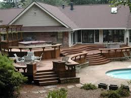 Backyard Deck Ideas Photos Emejing Outdoor Deck Design Ideas Contemporary Liltigertoo