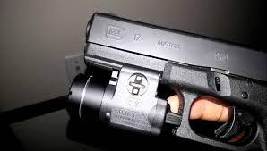 best laser light for glock 17 streamlight tlr 3 rail mounted light on glock 17 gen 3 youtube