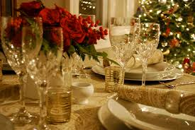 Elegant Christmas Dinner Table Decor by Christmas Table Decoration Instyle Fashion One